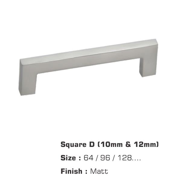 Square Matt D (10mm & 12mm)